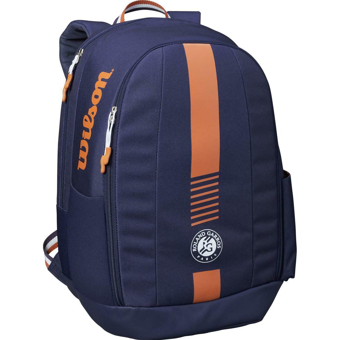 Wilson Roland Garros Team Backpack - Navy/Clay