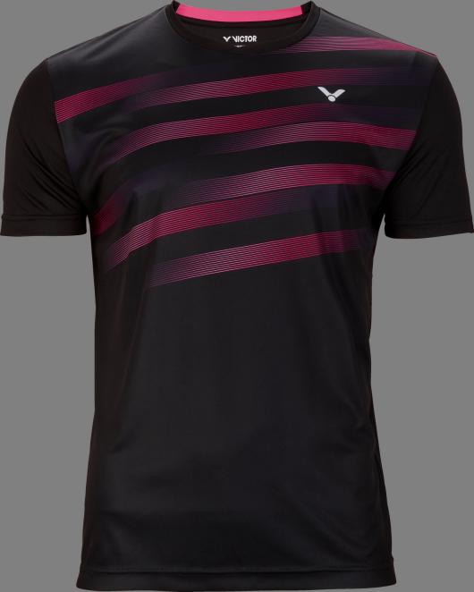 Victor Team Line T-Shirt Unisex - Black