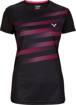 Victor Team Line T-Shirt Ladies - Black