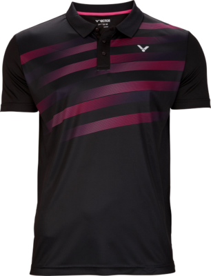 Victor Team Line Polo Unisex - Black