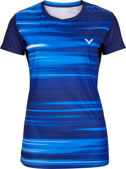 Victor Team Line T-Shirt Ladies - Blue