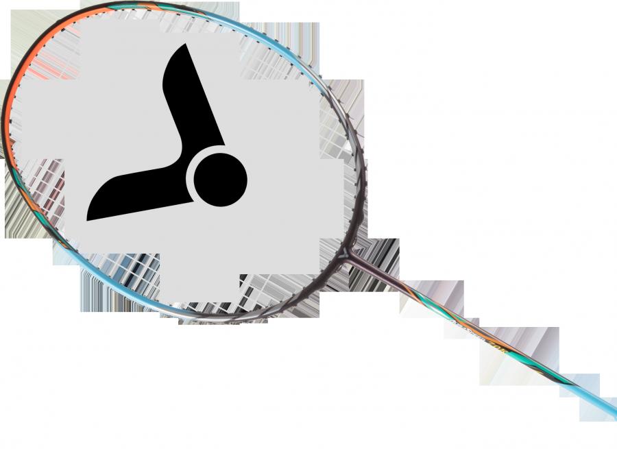Victor Auraspeed 70K Badminton Racket - Cyan