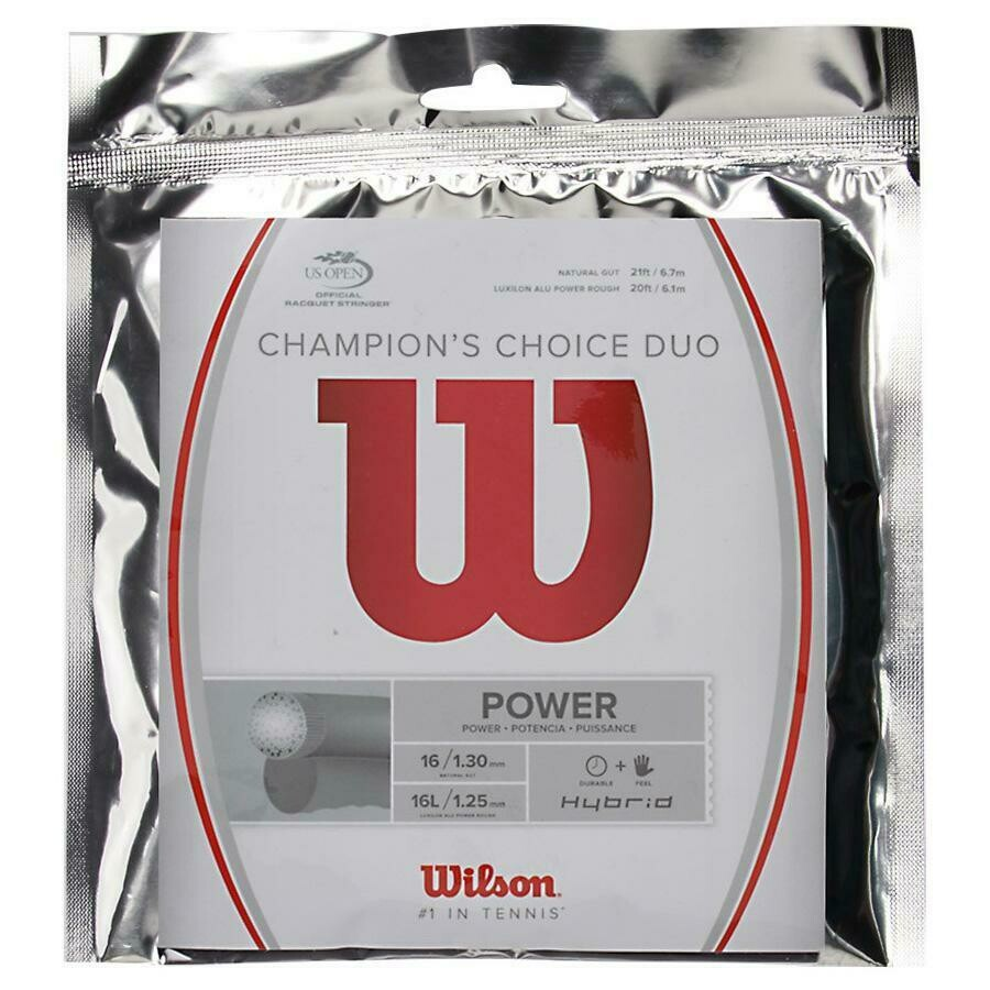Wilson Champions Choice Duo Tennis String Set