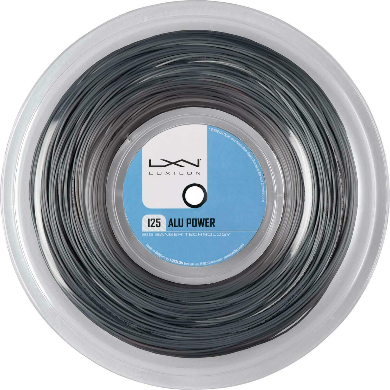 Luxilon Alu Power Tennis String  - Silver 220m Reel