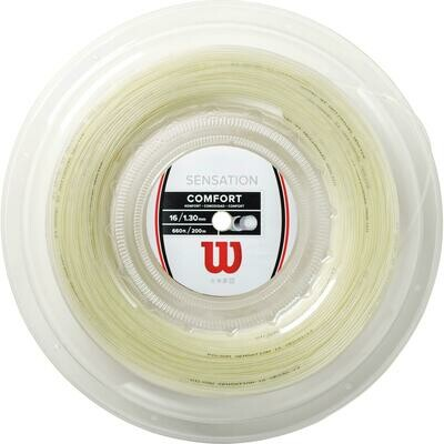 Wilson Sensation Comfort 200m Reel - Natural