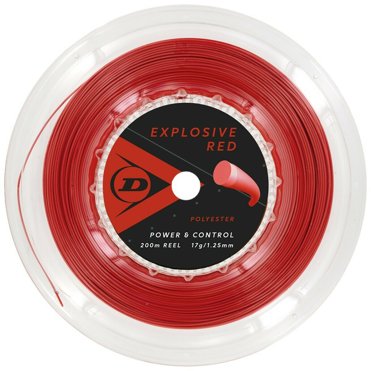 Dunlop Explosive Red 200m Reel Tennis String
