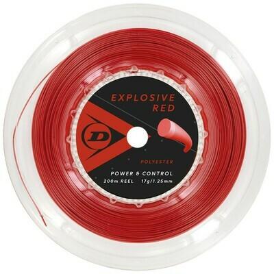 Dunlop Explosive Red 200m Reel Tennis String
