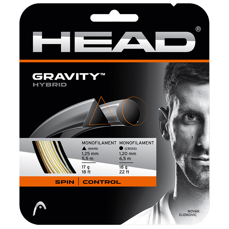 Head Gravity Hybrid Tennis String - 12m Set