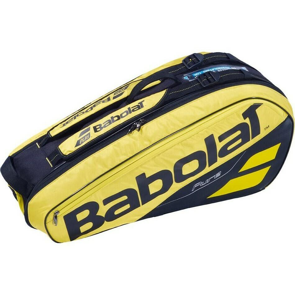 Babolat Pure Aero 6 Racket Bag - Yellow/Black