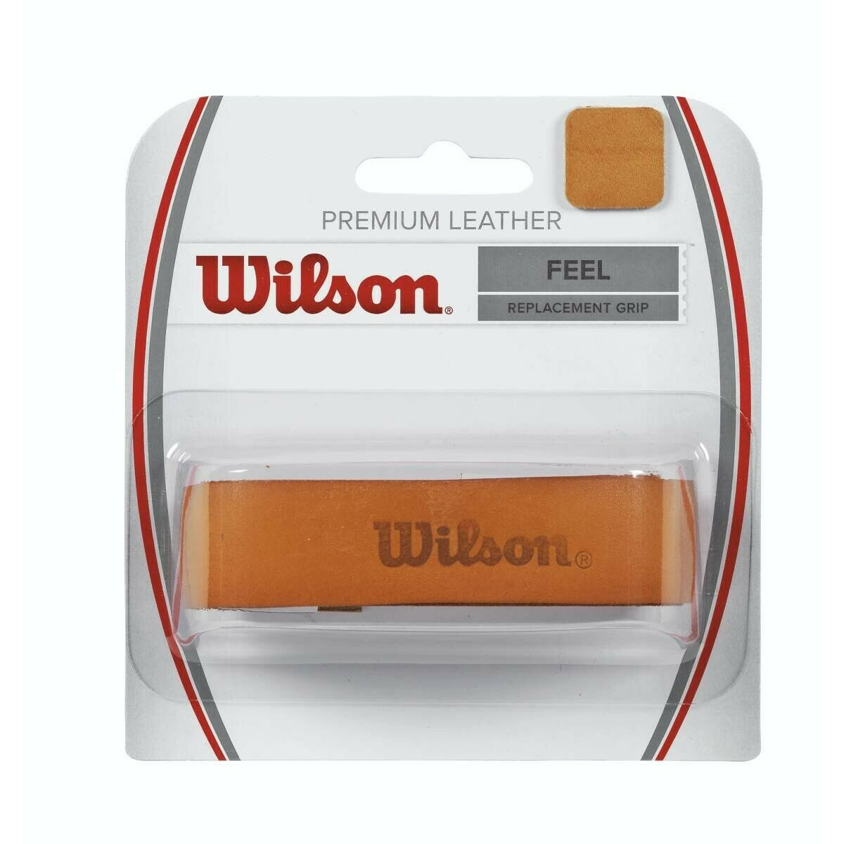Wilson Leather Tennis Grip - Natural