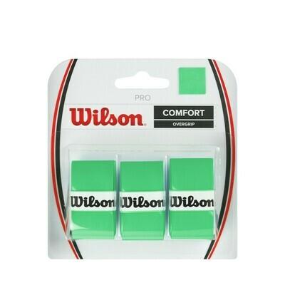 Wilson Pro Comfort Overgrip Green - 3 Pack