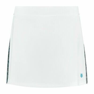 K-Swiss Hypercourt Express Tennis Skirt 2 - White