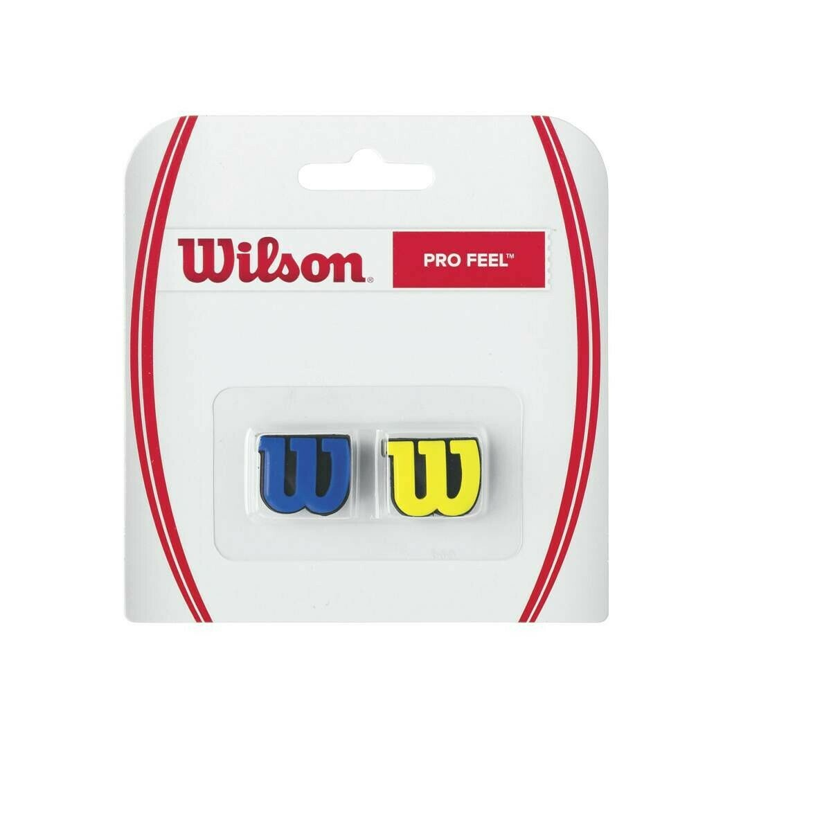 Wilson Pro Feel Dampener 2 Pack - Blue/Yellow
