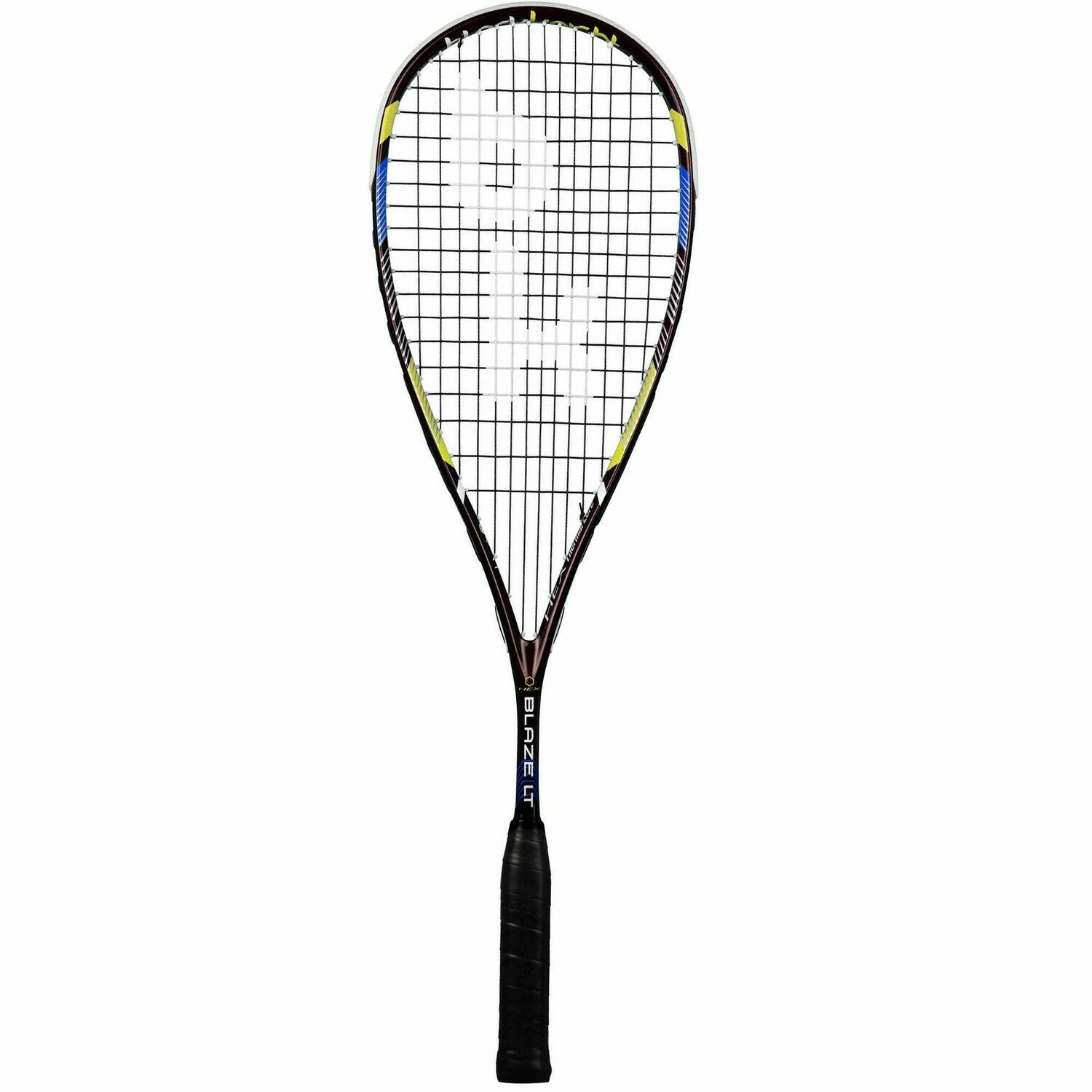 Black Knight Hex Blaze Squash Racket - Black