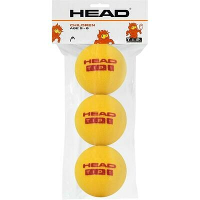Head TIP Foam Tennis Balls - 3 Pack