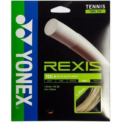 Yonex Rexis Tennis String Set - Natural