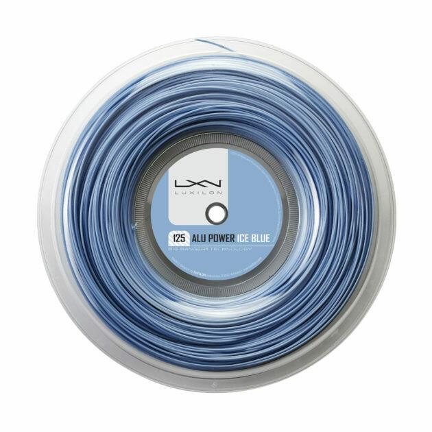Luxilon Alu Power Tennis String  - Ice Blue 200m Reel