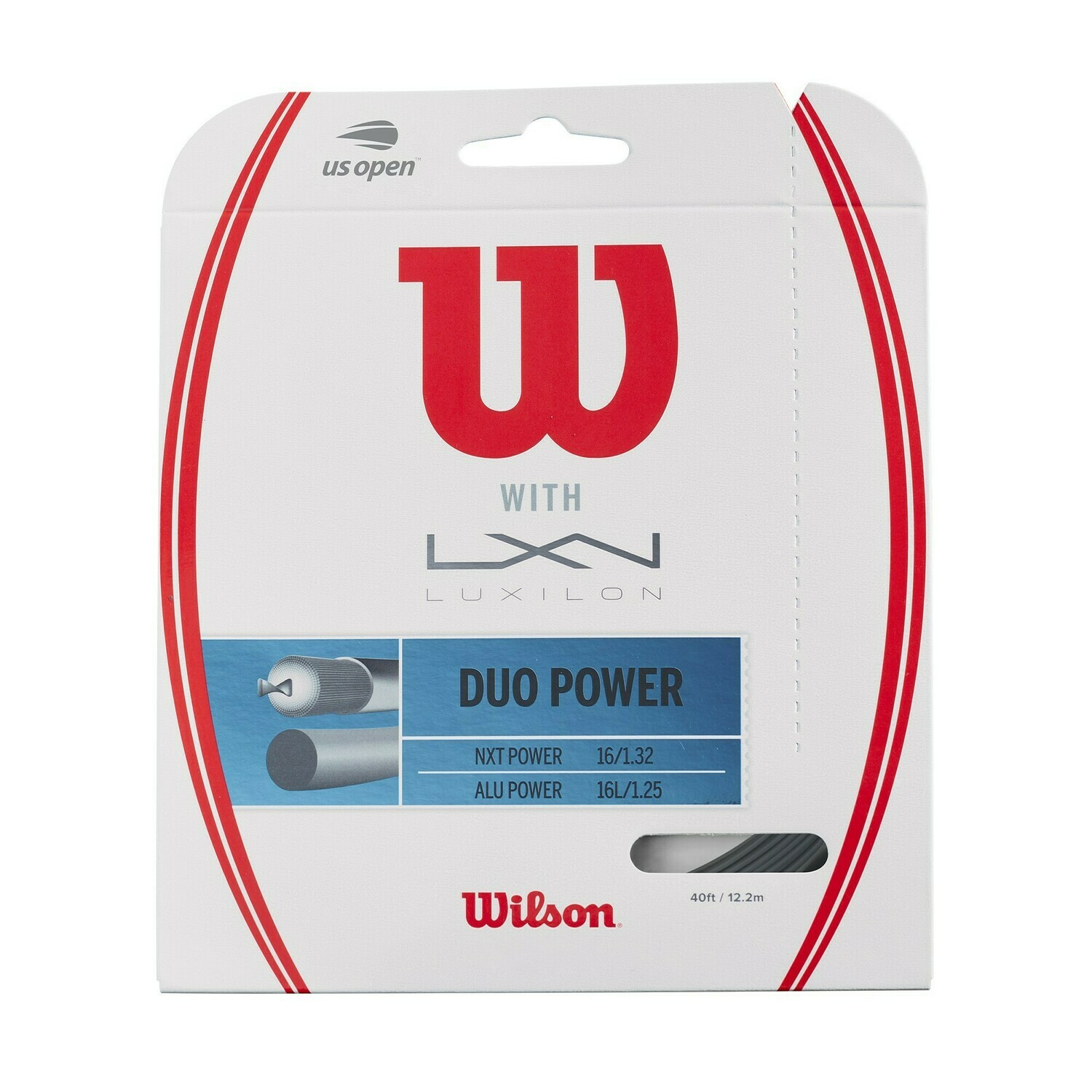 Wilson Duo Power Tennis String Set