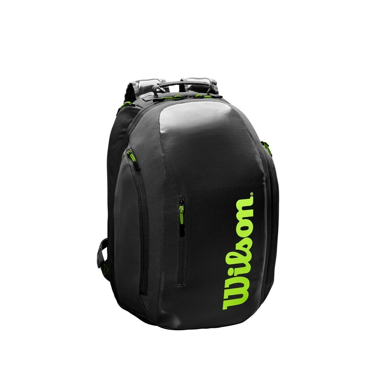 Wilson Super Tour Backpack - Charcoal/Green