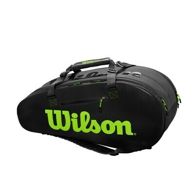 Wilson Super Tour 2 Comp Large Bag - Charcoal