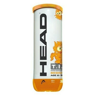 Head TIP Orange Mini Tennis Balls - 3 Ball Tube
