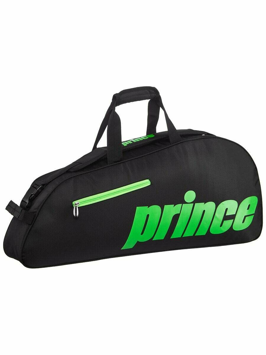 Prince Thermo 3 Racket Bag - Black/Green