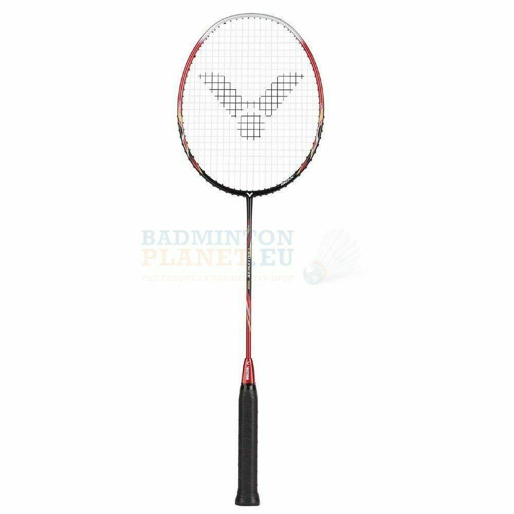 Victor Challenger 9500 Badminton Racket - High Risk Red