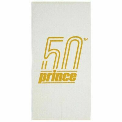 Prince Heritage Tennis Towel - White/Gold