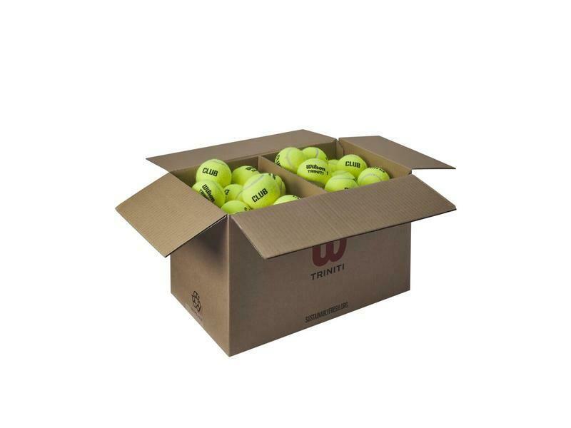 Wilson Triniti Club Tennis Balls - 6 Dozen Box
