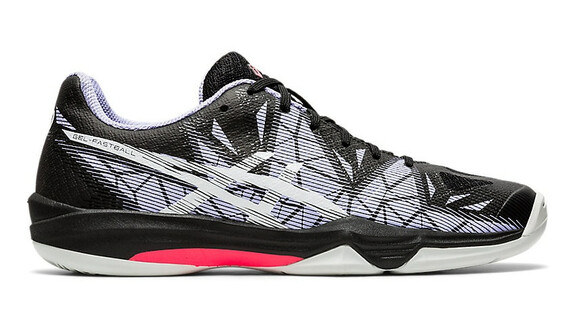 Asics Gel Fastball 3 Women - Black/White