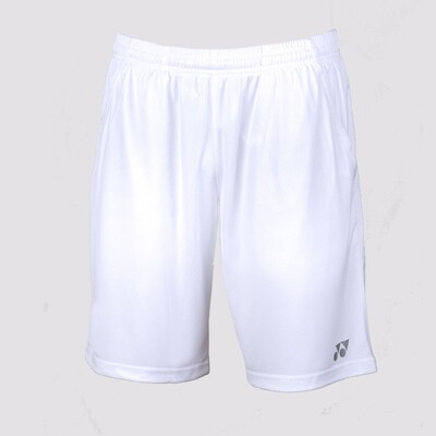Yonex YS2000 Men's Training Shorts - White