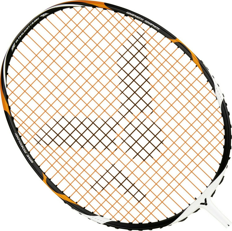 Victor Lightfighter 7500 Power Badminton Racket - White