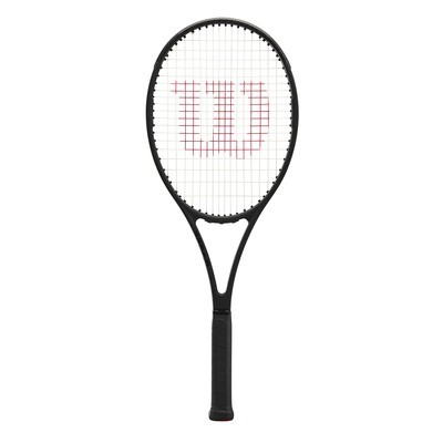 Wilson Pro Staff 97 V13.0 Tennis Racket - Black