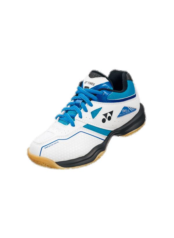 Yonex Power Cushion 36 Junior Badminton Shoes - White