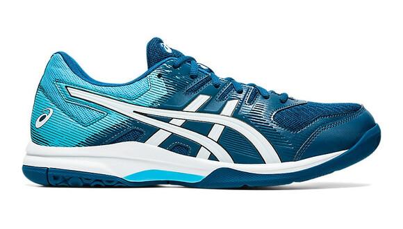 Asics Gel Rocket 9 Court Shoes - Mako Blue