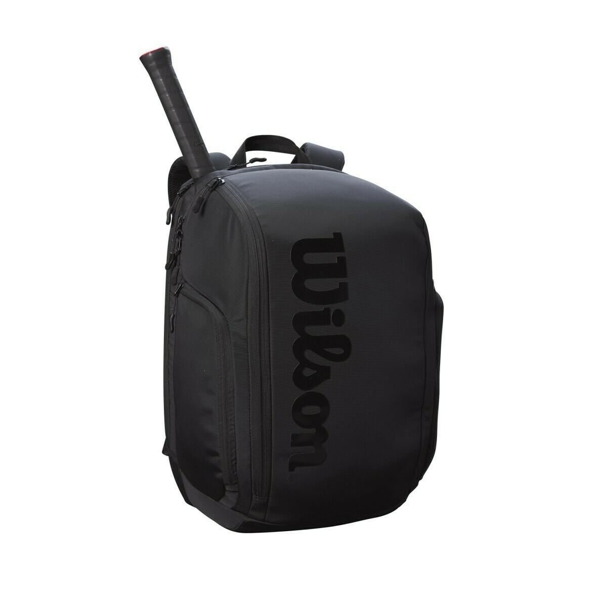 Wilson Super Tour Pro Staff Backpack - Black