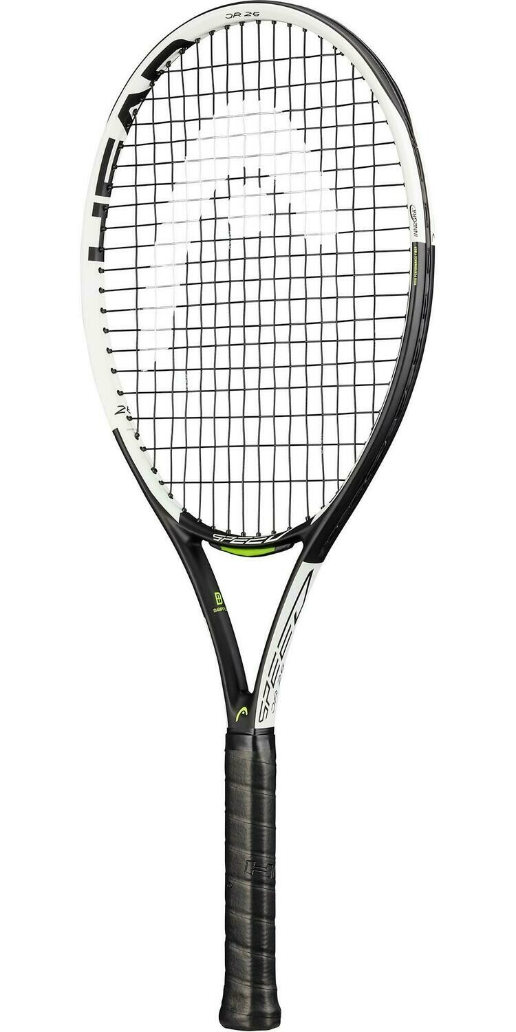 Head Speed 26 Junior Tennis Racket - White
