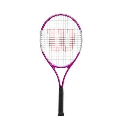 Wilson Ultra Pink Junior Tennis Racket - 25 inch