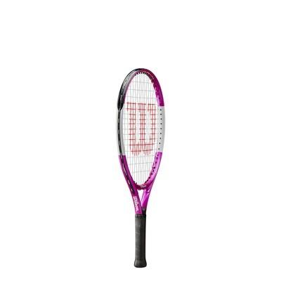 Wilson Ultra Pink Junior Tennis Racket - 21 inch