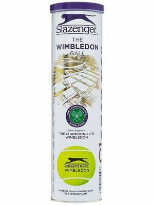 Slazenger Wimbledon Tennis Balls - 4 Ball Can