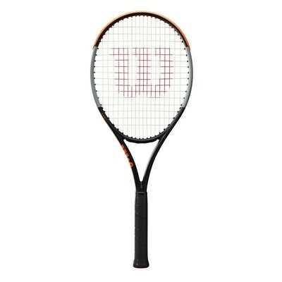 Wilson Burn 100ULS V4.0 Tennis Racket - Black