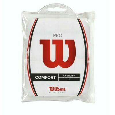 Wilson Pro Comfort Overgrip - 12 Pack - White