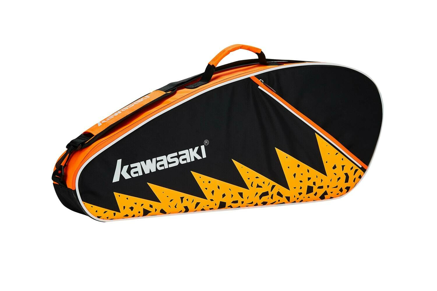 Kawasaki KBB-8336 3 Racket Bag - Black/Orange