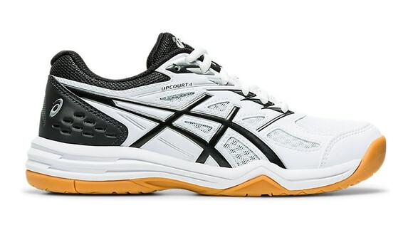 Asics Gel Upcourt 4 GS Junior Court Shoes - White