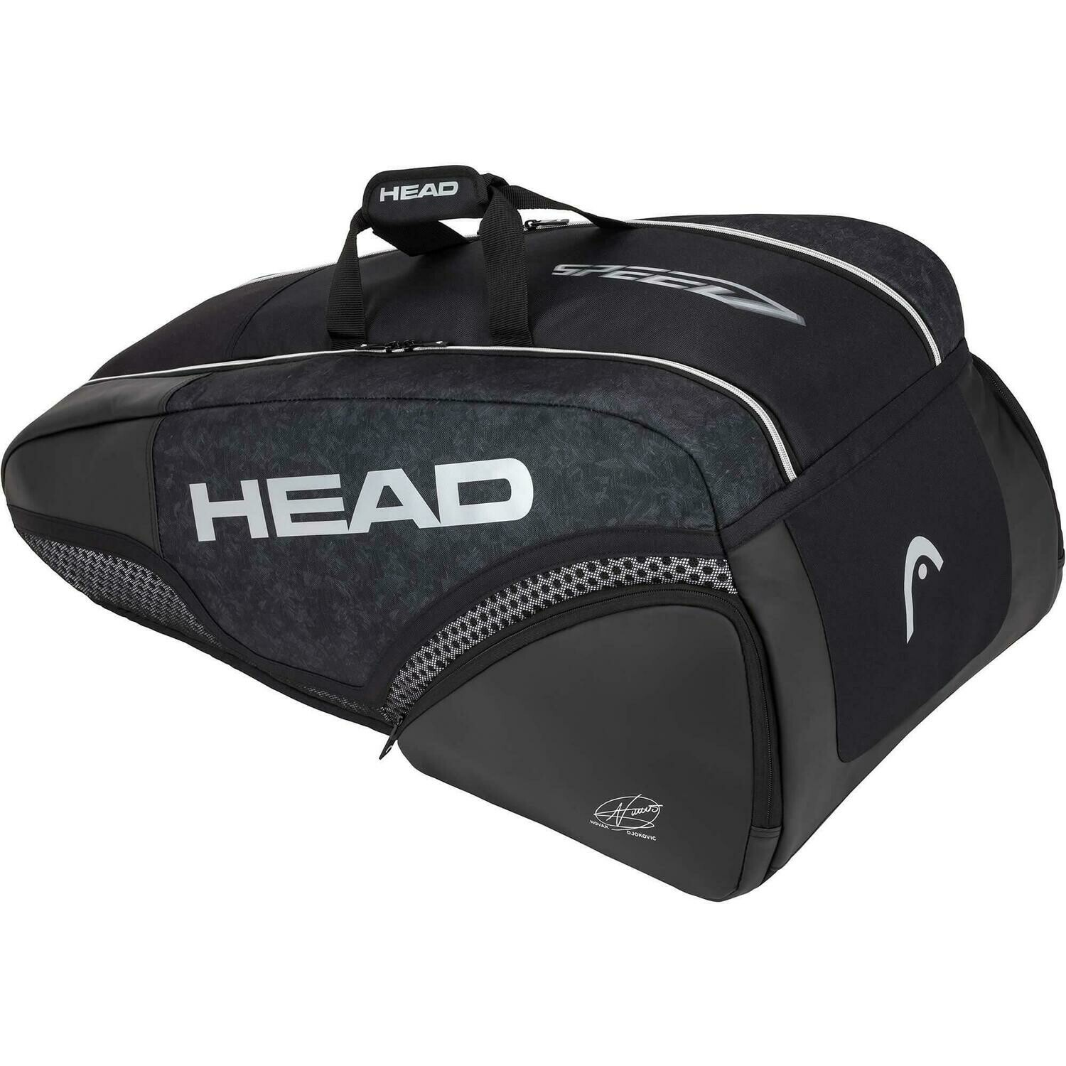 Head Djokovic 9R Supercombi Bag - Black
