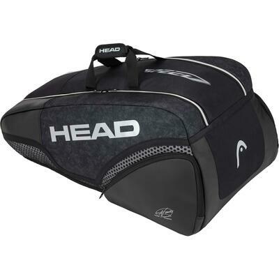 Head Djokovic 9R Supercombi Bag - Black