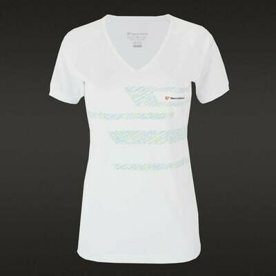 Tecnifibre Women's F2 Airmesh Shirt - White