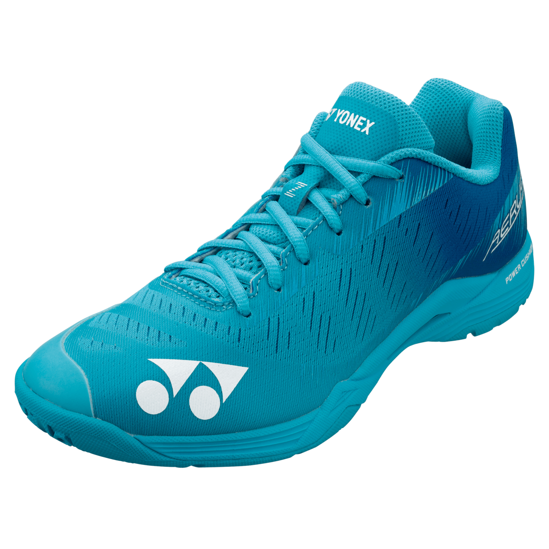 Yonex Power Cushion Aerus Z Men's Badminton Shoes - Mint Blue