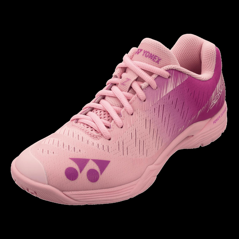 Yonex Power Cushion Aerus Z Women's Badminton Shoes - Pastel Pink