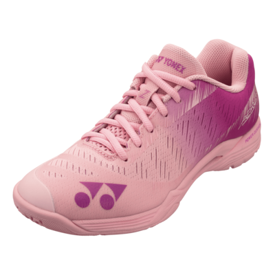Yonex Power Cushion Aerus Z Women's Badminton Shoes - Pastel Pink
